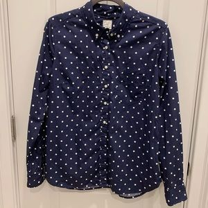 Gap Polka Dot button down.